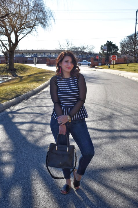 One Layering top to take you from Winter to Spring