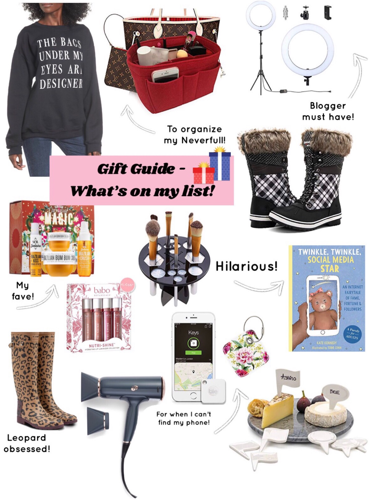 Gift Guide – What's On My List