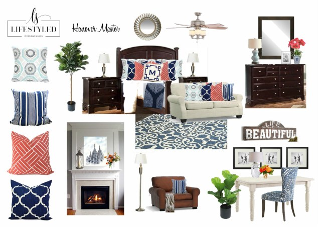Master Suite Design Board