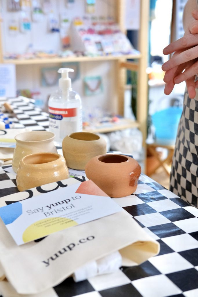 Pottery classes Bristol: Discover ceramics with Alice at Trylla Bristol