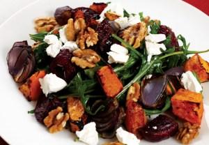 Roast Beet & Pumpkin Salad