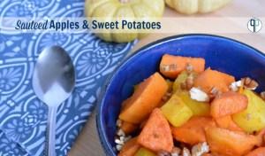 Sauteed Apple and Sweet Potato