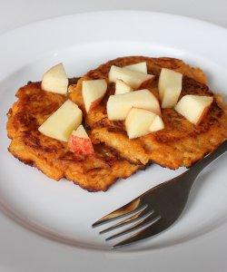 Sweet Potato Apple Pancake