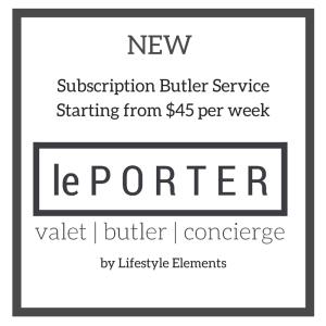 le Porter - Australia's Subscription Butler Service - Adelaide