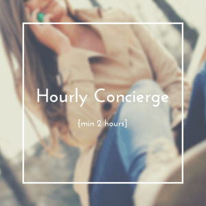 Hourly Concierge