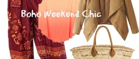 Boho Chic for the Weekend Hippy in You