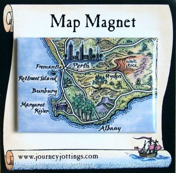 what to give the woman who has everything, map-magnet-sw-wa