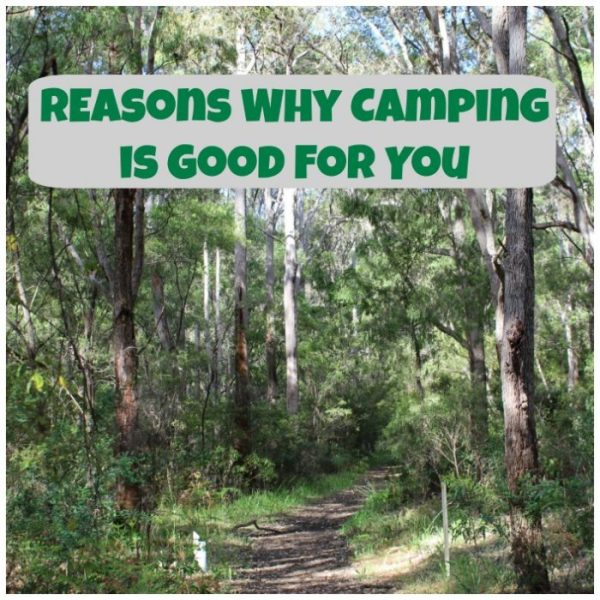 Reasons why camping is good for you