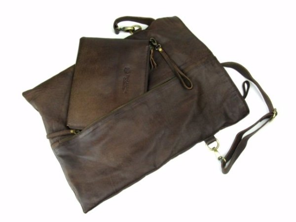 what to give the woman who has everything, leather bag
