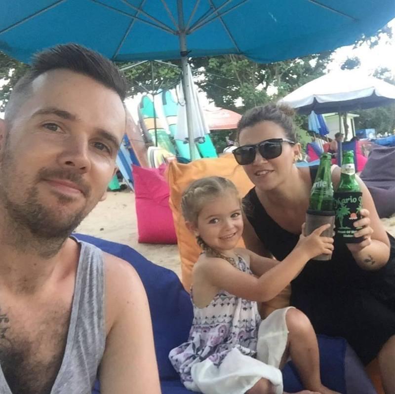 Matt Amy and Issy in Bali