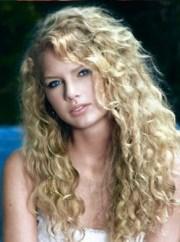 taylor swift long curls lifestyle