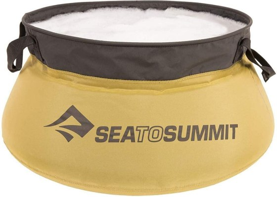 Sea to Summit Portable Water Storage Sink and Clothes Washer Sanitary Camping Hiking Survival Gear