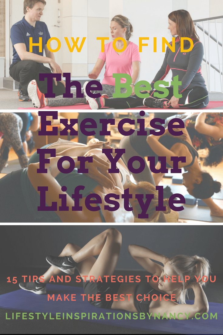 how to find the best exercise for you