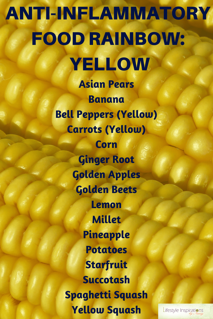 yellow foods list