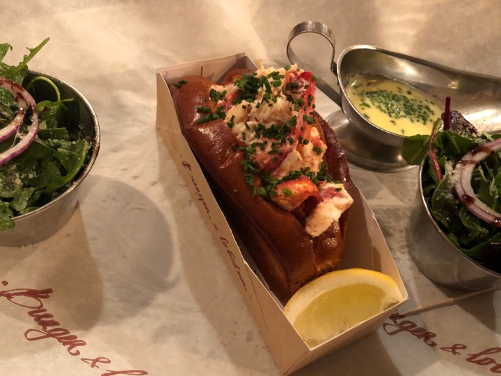 Sometime's it's all about the Lobster Roll!