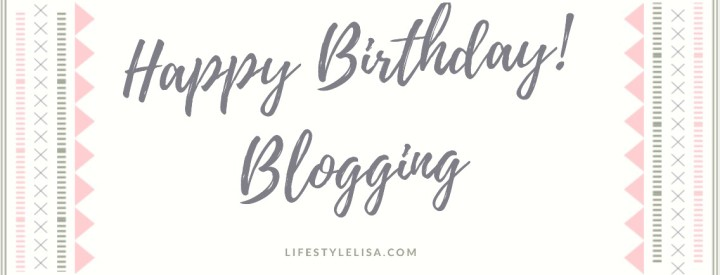 Birthday Blogging