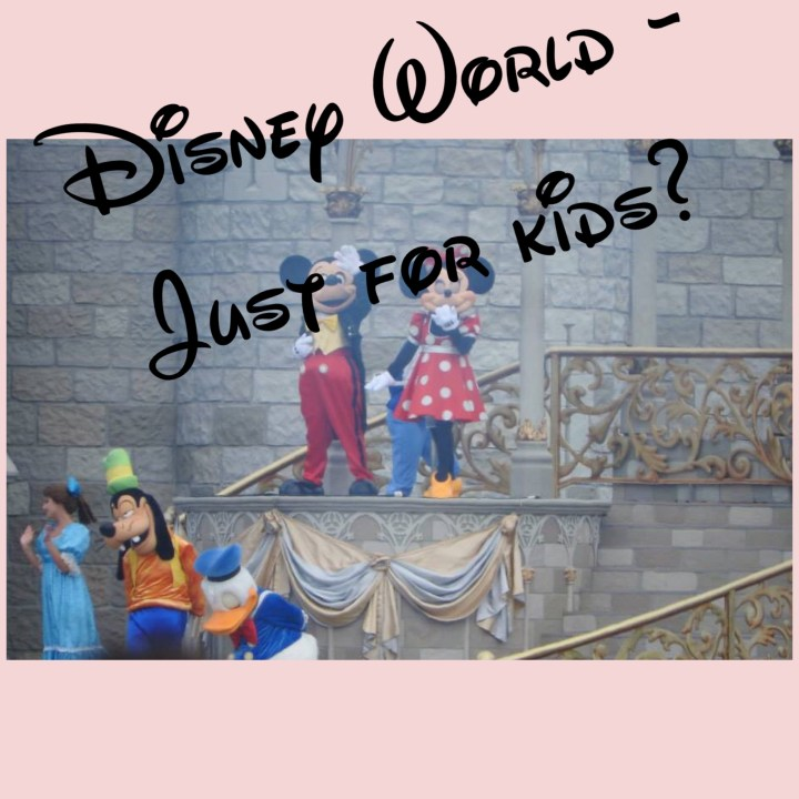 Walt Disney World – Just for kids?