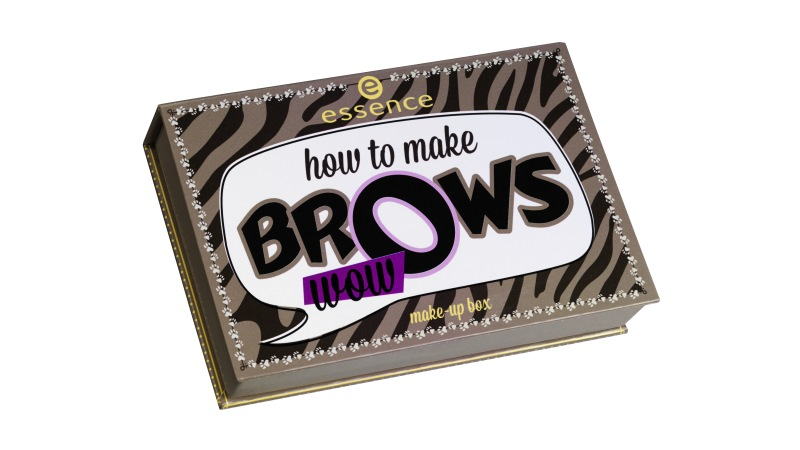 Essence How to make brows wow