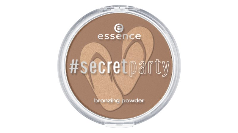 essence secret party bronzing powder