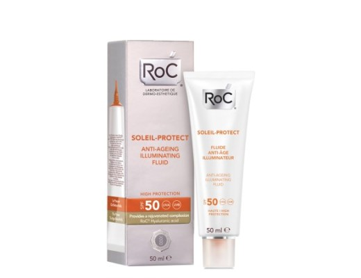 RoC Soleil Protect Anti-Ageing Illuminating Face Fluid