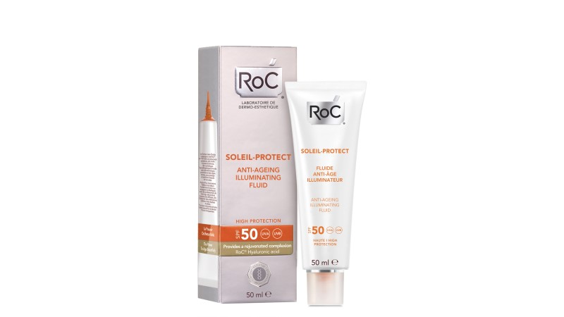 RoC Soleil Protect Anti-Ageing Illuminating Face Fluid