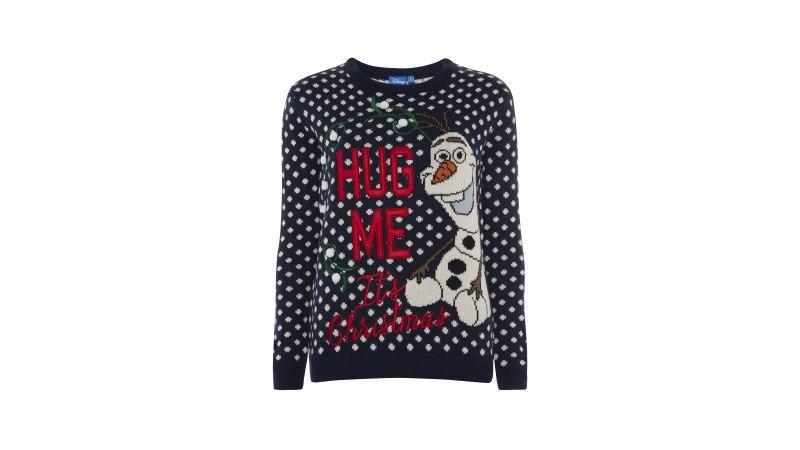 Primark kersttrui Olaf Frozen