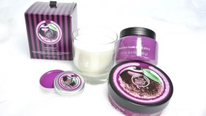 the body shop kerst 2015 frosted plum