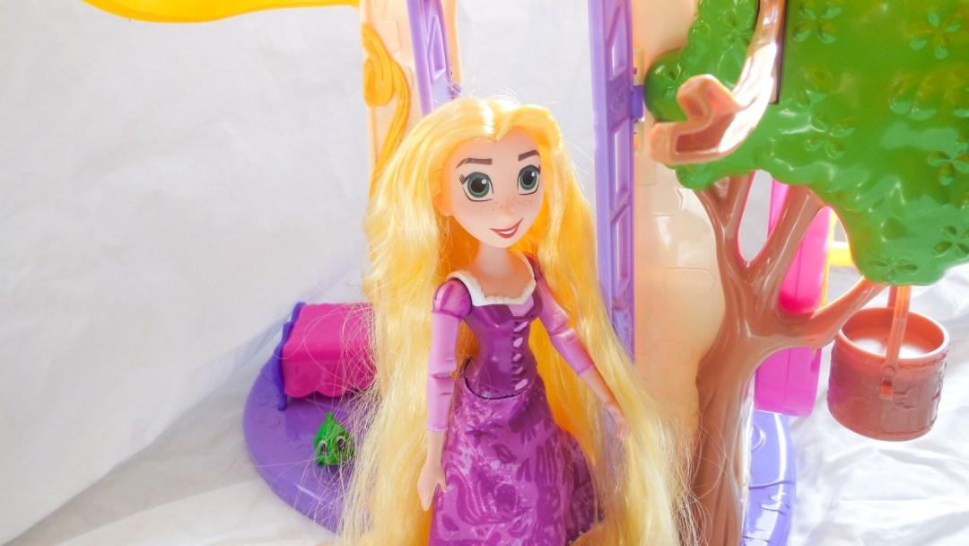 Rapunzel Zwaaiende Lokken Kasteel