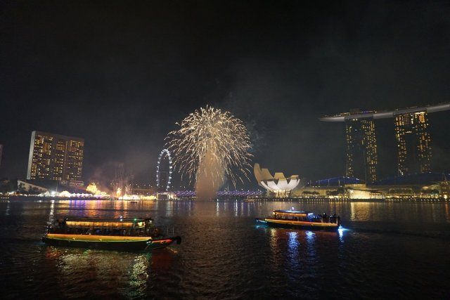 Silvester in Singapur