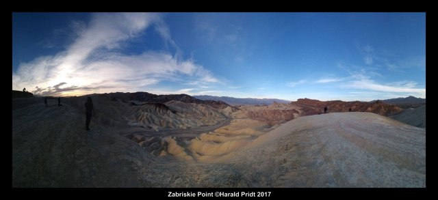Zabriskie Point Panorama