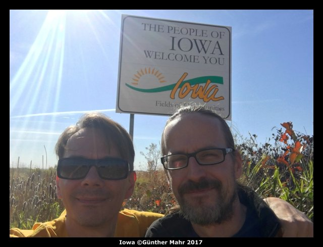 USA Road Trip Quer Etappen Iowa