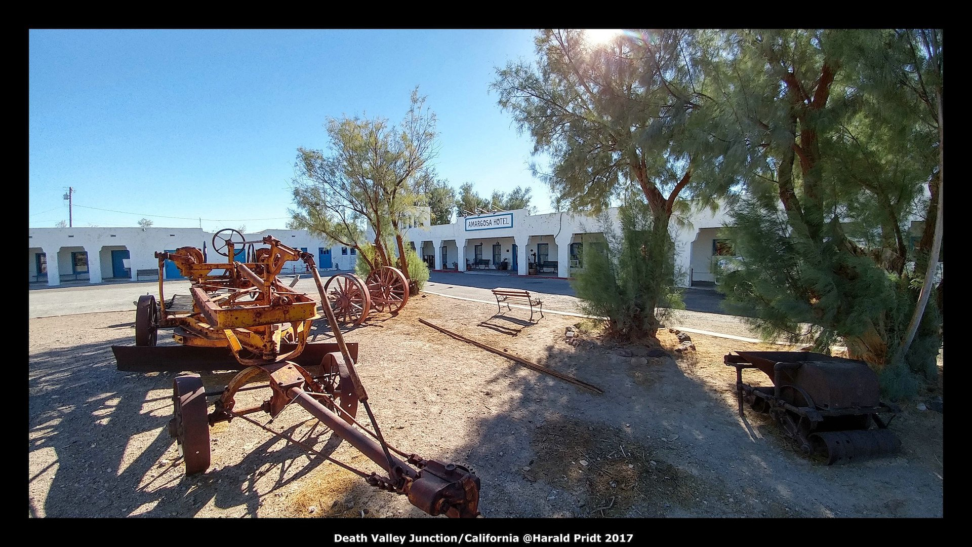USA Road Trip Quer Etappen California Death Valley Junction