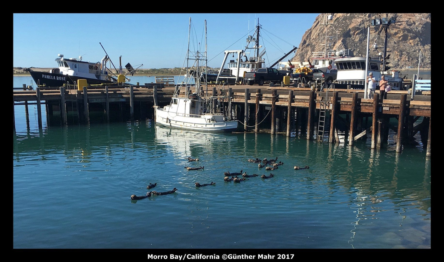 USA Road Trip Quer Etappen California Morro Bay