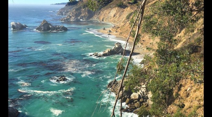 USA Road Trip Quer Etappen California Big Sur