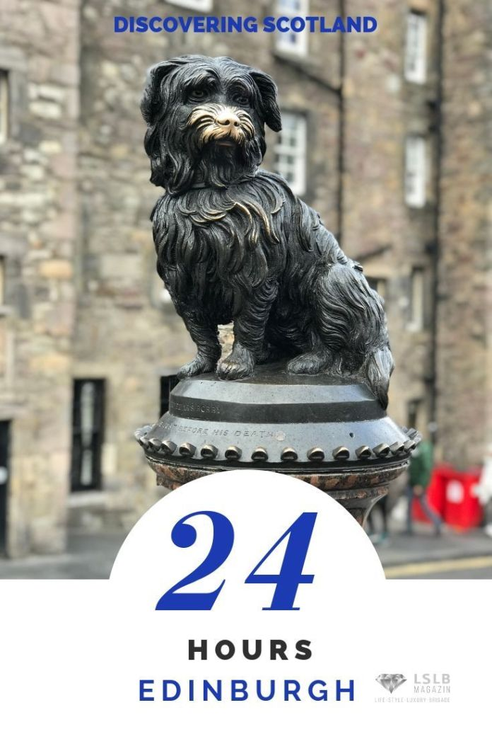 Edinburgh Bobby the dog statue