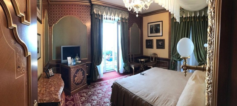 Schlafzimmer Suite Grand Hotel des Iles Borromees.