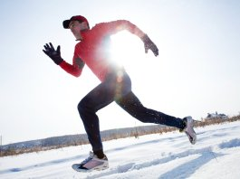 Winter Outfit Outdoor Workout