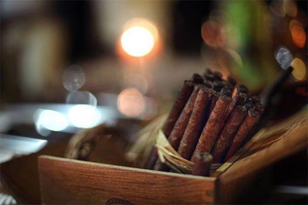 Barolo Chinato e sigari