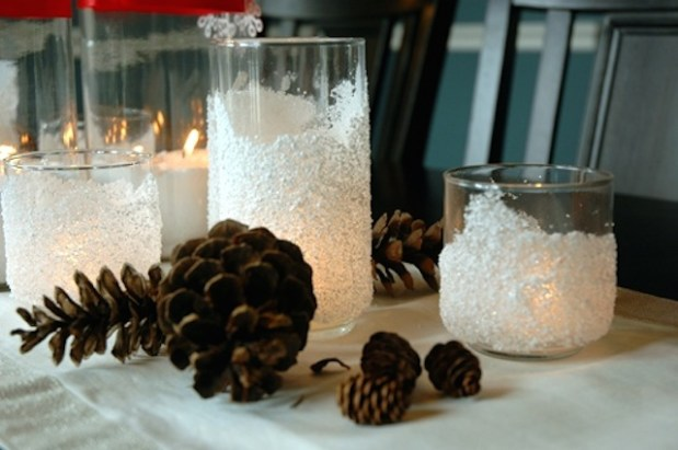 Come creare delle candele natalizie fai da te