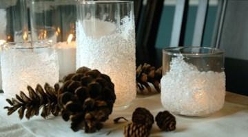 Regali di Natale fai da te: come creare delle candele shabby chic