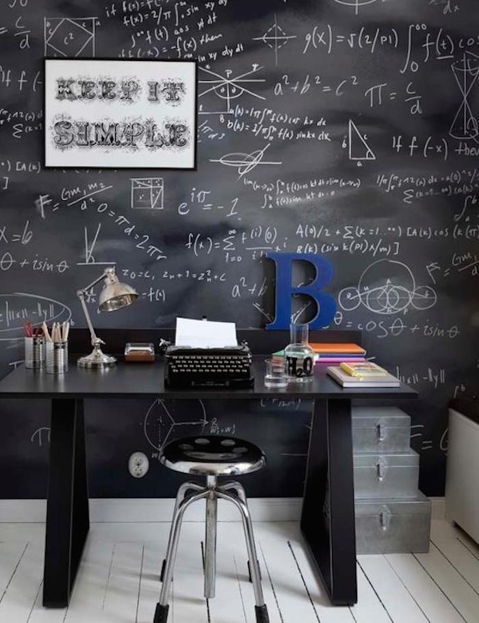 Ufficio in casa consigli su spazi e arredo - Parete lavagna arredamento ...