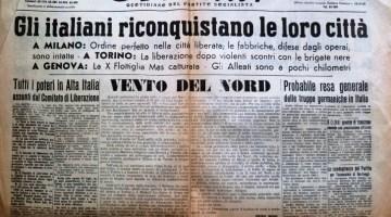 25 Aprile: Liberi di ricostruire, ma non troppo