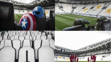 Juventus Stadium: stasera entrano in campo gli Avengers
