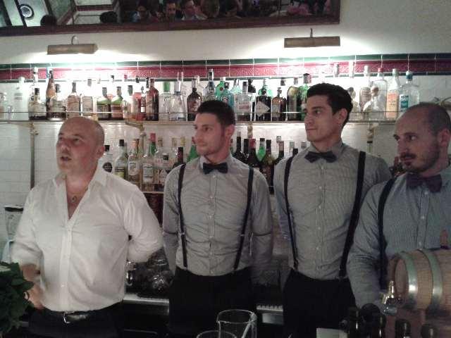 """Bartender de """"La Buvette"""""""