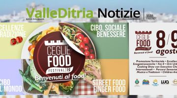 "Ceglie Food Festival 2015: ""Benvenuti al Food"""