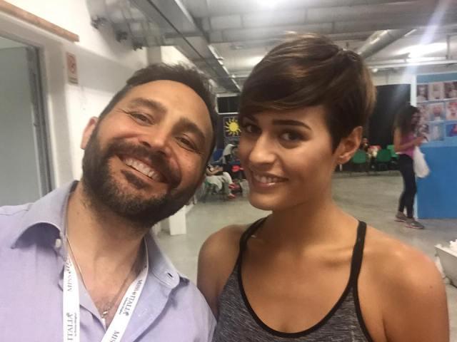 Antonio Ciaramella e Miss Lazio