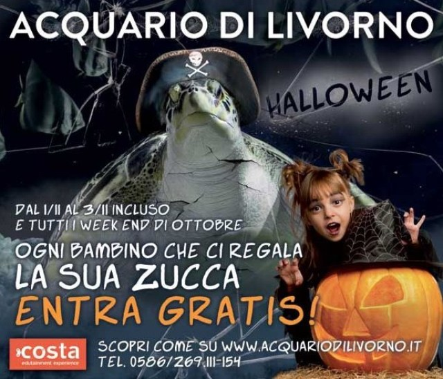 Halloween-Acquario-Livorno
