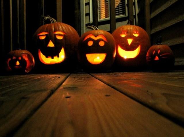 zucca lanterna di Halloween-fai-da-te