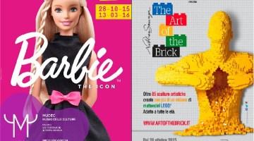Mostre in famiglia: Barbie al Mudec di Milano e Lego a Roma, tutte le info e i prezzi