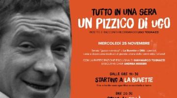 Serata Ugo Tognazzi al 'Dillà': all'insegna del gusto non-stop, tra ricette e racconti